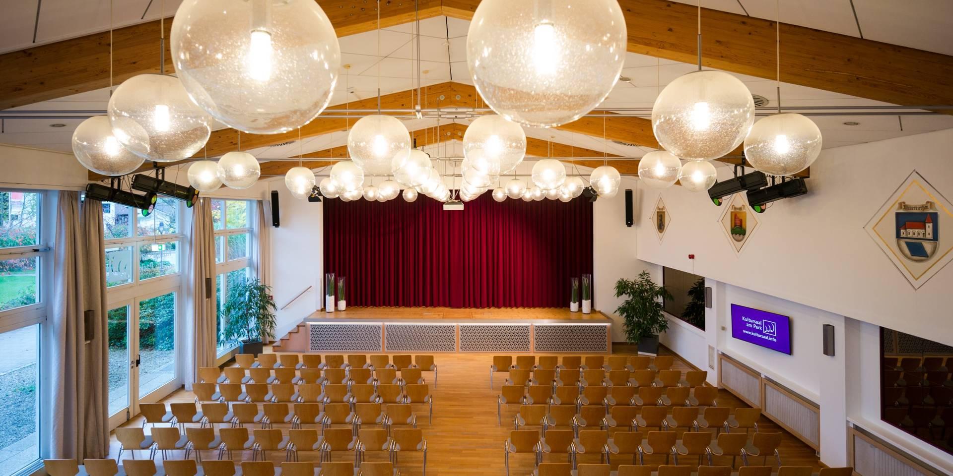 7afa39d97a4b3 Kultursaal am Park in den Chiemgau Thermen Bad Endorf